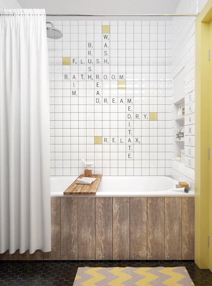 как выложить ванну плиткой фото