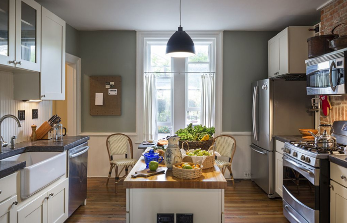 норвежский стиль в интерьере кухни
