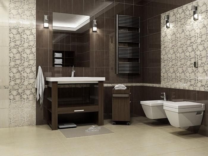 как увеличить пространство в ванной комнате